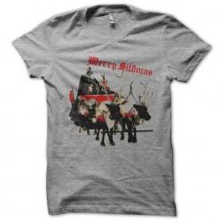 tee shirt merry sithmas gray sublimation