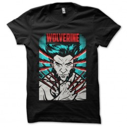 wolverine shirt black...