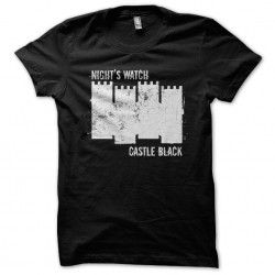 T-Shirt Castle Black Black...