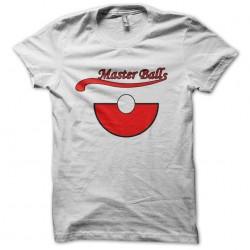 white sublimation master balls tee shirt
