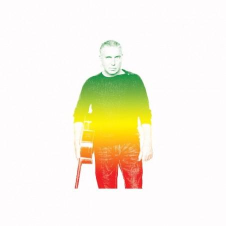 Tee shirt Bernard Lavilliers rasta gradient  sublimation