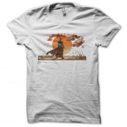 samurai t-shirt sunset...