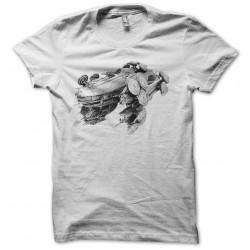 starship tee shirt white sublimation
