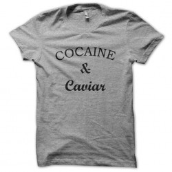 cocaine t-shirt and gray...