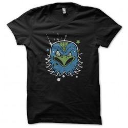t-shirt bird in anger black...