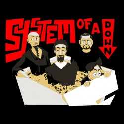 shirt system of a down black sublimation