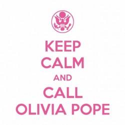 olivia pope tee white sublimation