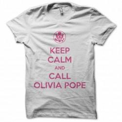 olivia pope tee white...