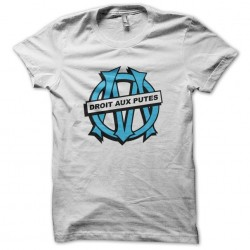 Parody T-shirt Olympique de Marseille Straight to Whites Sublimation