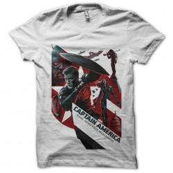 tee shirt captain america logo film  sublimation