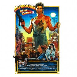 tee shirt  film big trouble in little china  sublimation