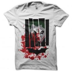 t-shirt joker bat man white sublimation