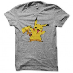 T-Shirt Pikachu Gris...