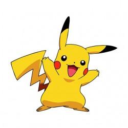 Tee Shirt Pikachu white...
