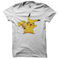 Tee Shirt Pikachu white sublimation
