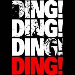 hector salamanca ding ding t-shirt in black sublimation