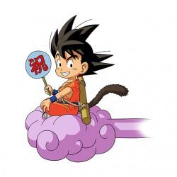 Tee Shirt His Goku cloud...