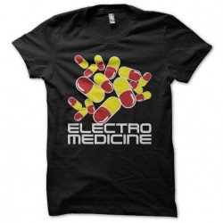 Electro Medicine T-shirt capsules black sublimation