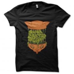 cat brain t-shirt in black...