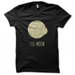 black shirt full moon black...