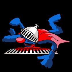 tee shirt Super Grover black sublimation