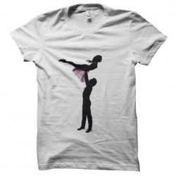 White T shirt Dirty Dancing Sublimation