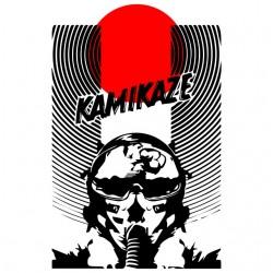 kamikaze t-shirt the sun of japan white sublimation