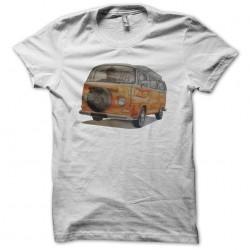 T-shirt van volkswagen white sublimation