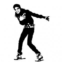 Michael Jackson t-shirt king of pop white sublimation