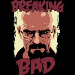 shirt breaking bad heisenberg portrait black sublimation