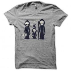 tee shirt grim family gris sublimation