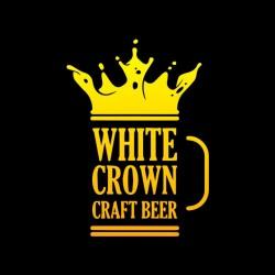 tee shirt white crown craft...