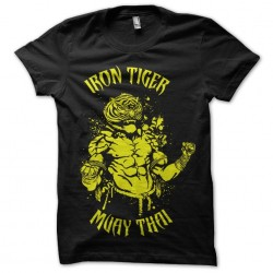 t-shirt iron tiger muay...