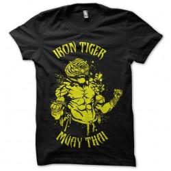 tee shirt iron tiger muay...