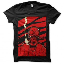 tee shirt skull hellboy...