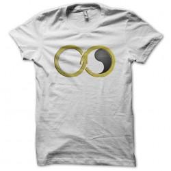 infinity snake white sublime t-shirt