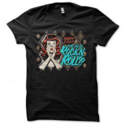 Rock N Roll t-shirt black...