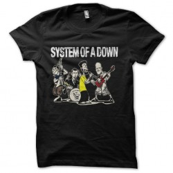 t-shirt system of a down...