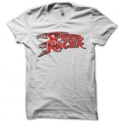 shirt speed racer white...