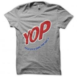 tee shirt YOP pub parodie...