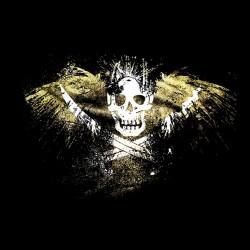 tee shirt pirate skull...
