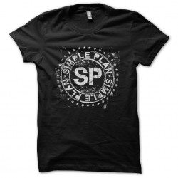 tee shirt Simple black...