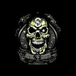 tee shirt original gangster...