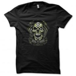 tee shirt original gangster skull black sublimation