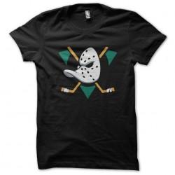 hockey duck logo black...