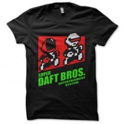 t-shirt daft punk way mario...