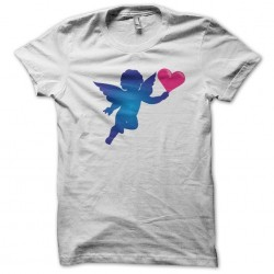 Angel Cupid white sublimation t-shirt