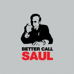 Tee shirt Breaking Bad Better Call Saul gris sublimation