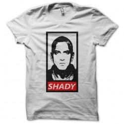 T-shirt eminem shady parody obey white sublimation