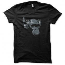shirt monkey headphone...